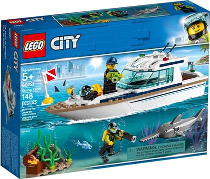 Lego City: Diving Yacht