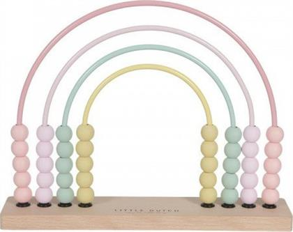 Little Dutch Rainbow Abacus Pink από το Spitishop