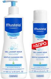 Mustela Gentle Cleansing Gel-Normal Skin 500ml & Δώρο 200ml από το Pharm24