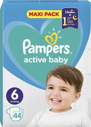 Pampers Active Baby No 6 (13-18kg) Maxi Pack 44τμχ από το Pharm24