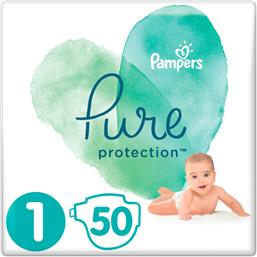 Pampers Pure Protection No 1 (2-5kg) 50τμχ από το Pharm24